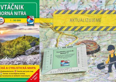 Aktualizácia mapy TM 131 Vtáčnik – Horná Nitra práve odštartovala