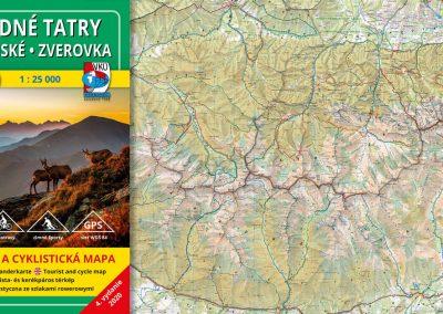 NOVINKA! TM 3 – Západné Tatry – Podbanské – Zverovka