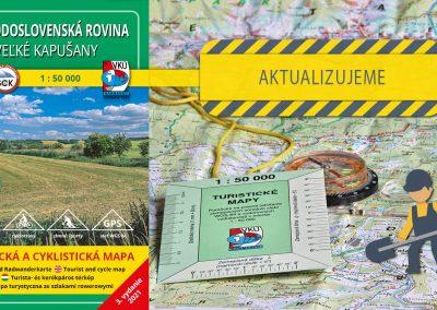 Odštartovali sme aktualizáciu mapy TM 147 Východoslovenská rovina – Veľké Kapušany