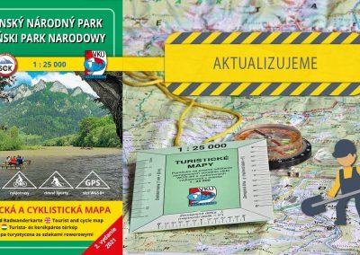 Aktualizujeme ôsmu mapu v mierke 1:25000 – TM 7 Pieninský národný park