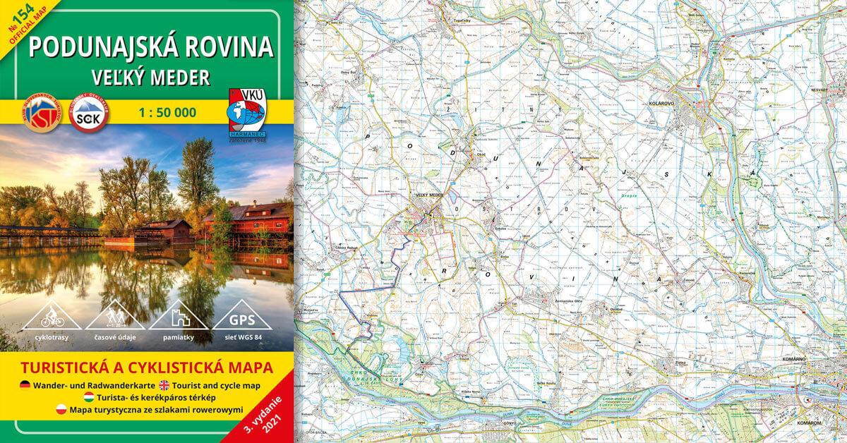 Spoznávajte Podunajskú rovinu s našou novou mapou
