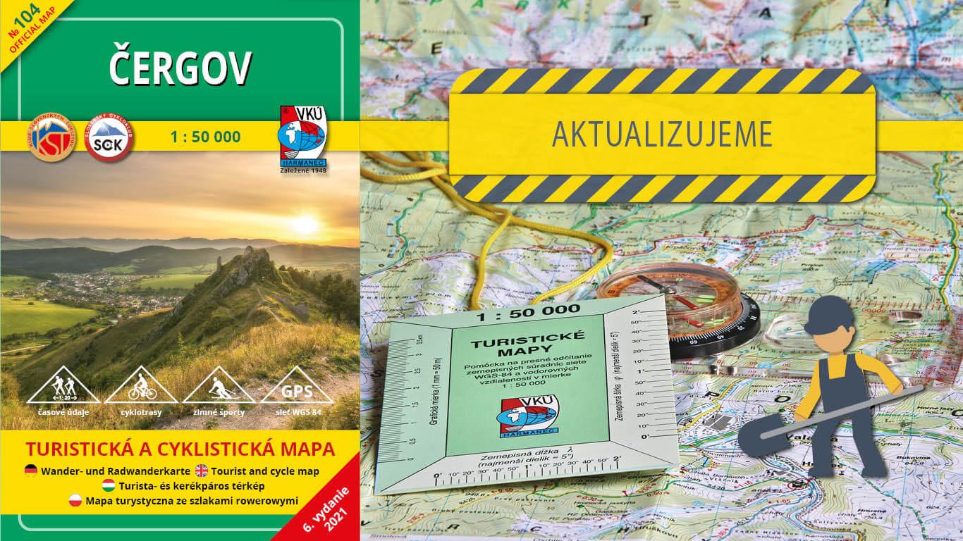 Aktualizujeme TM 104 – Čergov