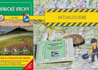 Aktualizácia mapy TM 138 – Štiavnické vrchy práve odštartovala