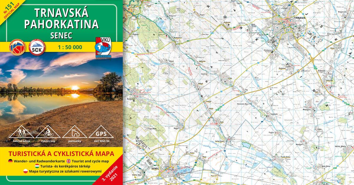 Novinka! TM 151 Trnavská pahorkatina – Senec