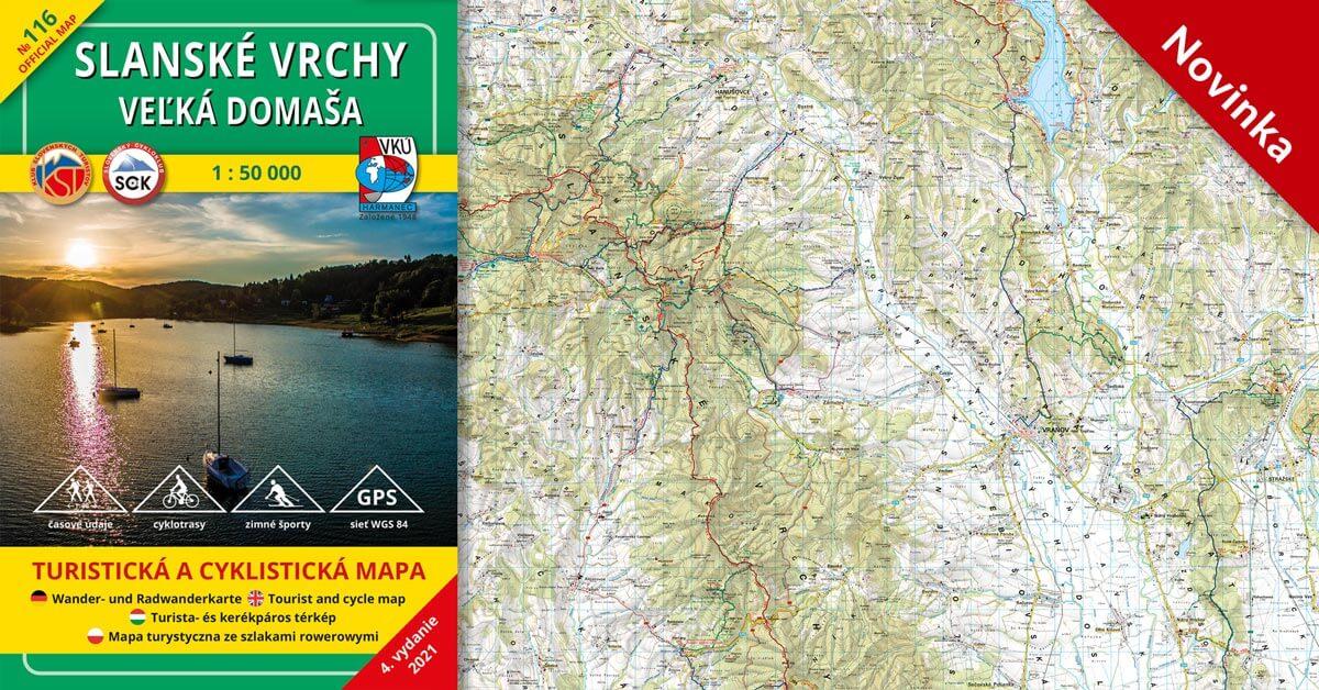 NOVINKA! TM 116 Slanské vrchy – Domaša