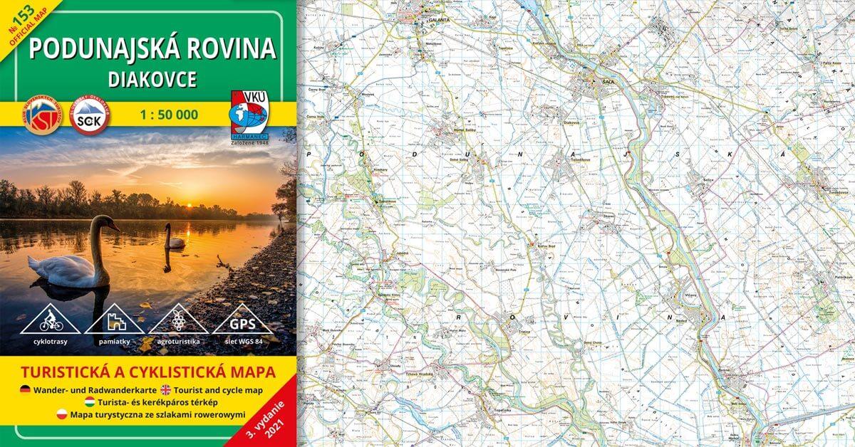 Novinka! TM 153 – Podunajská rovina – Diakovce