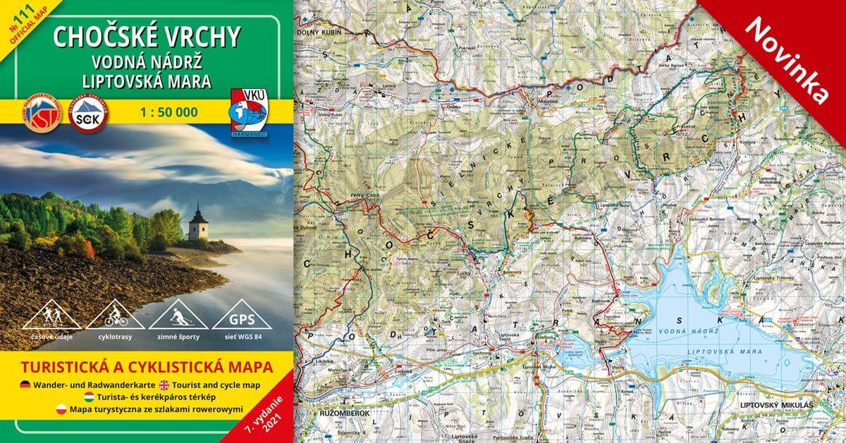 TM 111 Chočské vrchy – vodná nádrž Liptovská Mara