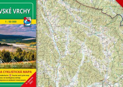 NOVINKA! TM 118 Bukovské vrchy