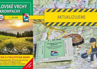 Odštartovali sme aktualizáciu mapy TM 125 Volovské vrchy – Krompachy
