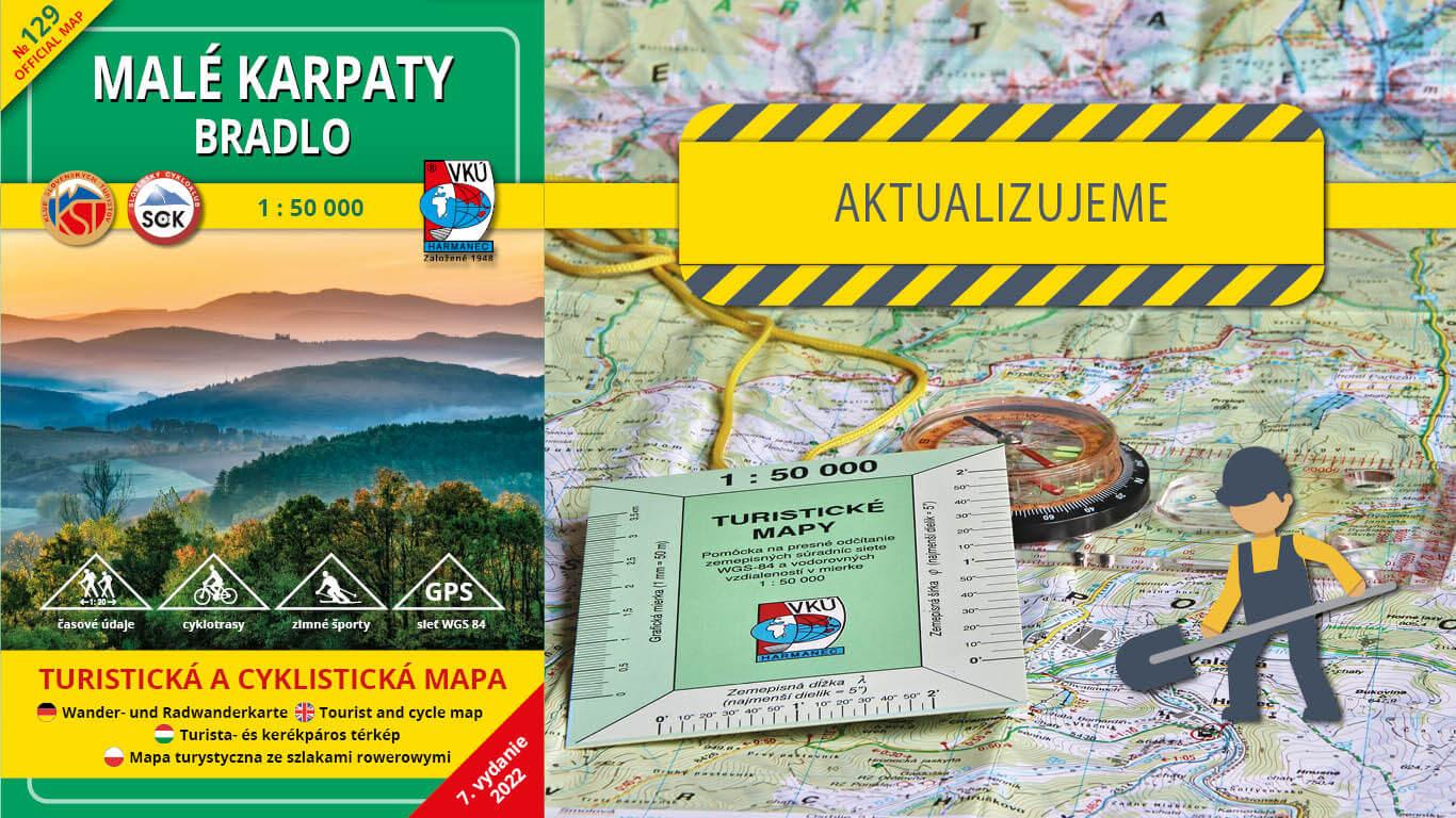 Aktualizujeme TM 129 Malé Karpaty – Bradlo