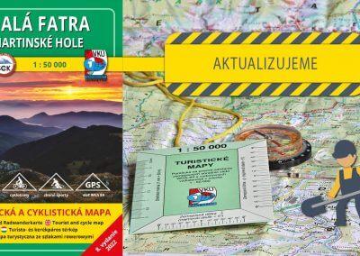 Odštartovali sme aktualizáciu mapy TM 120 Malá Fatra – Martinské hole