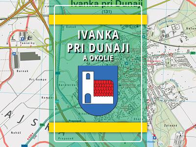 Ivanka pri Dunaji a okolie – turistická mapa katastra obce