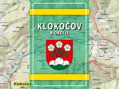 Klokočov (okres Čadca) a okolie – turistická mapa katastra obce